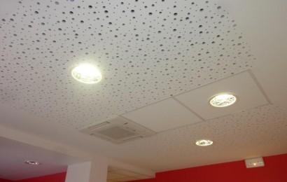 plafond du cabinet dentaire